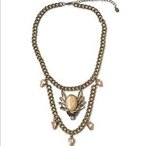 Robert Rose Jeweled Rhinestone Necklace